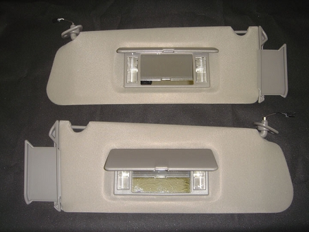 Sunvisors,Chevrolet Tahoe,1996-99,Grey,Pair