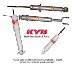 KYB Rear Shock Absorbers,C2 Corvette,1963-67,Pair