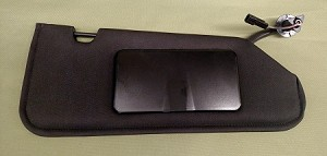 Right Side Sun Visor,C6 Corvette,2005-2013,Sun Shade,New